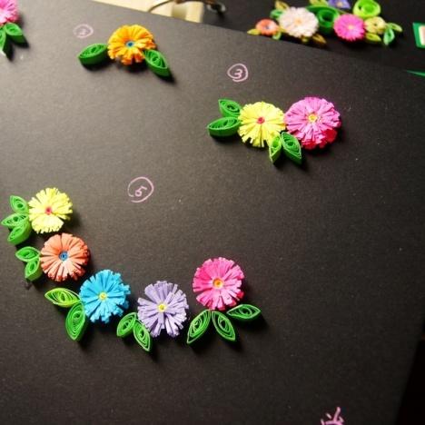 品唐 日韩文具 diy相册必备 创意纯手工折纸 手工纸花 花朵多款选